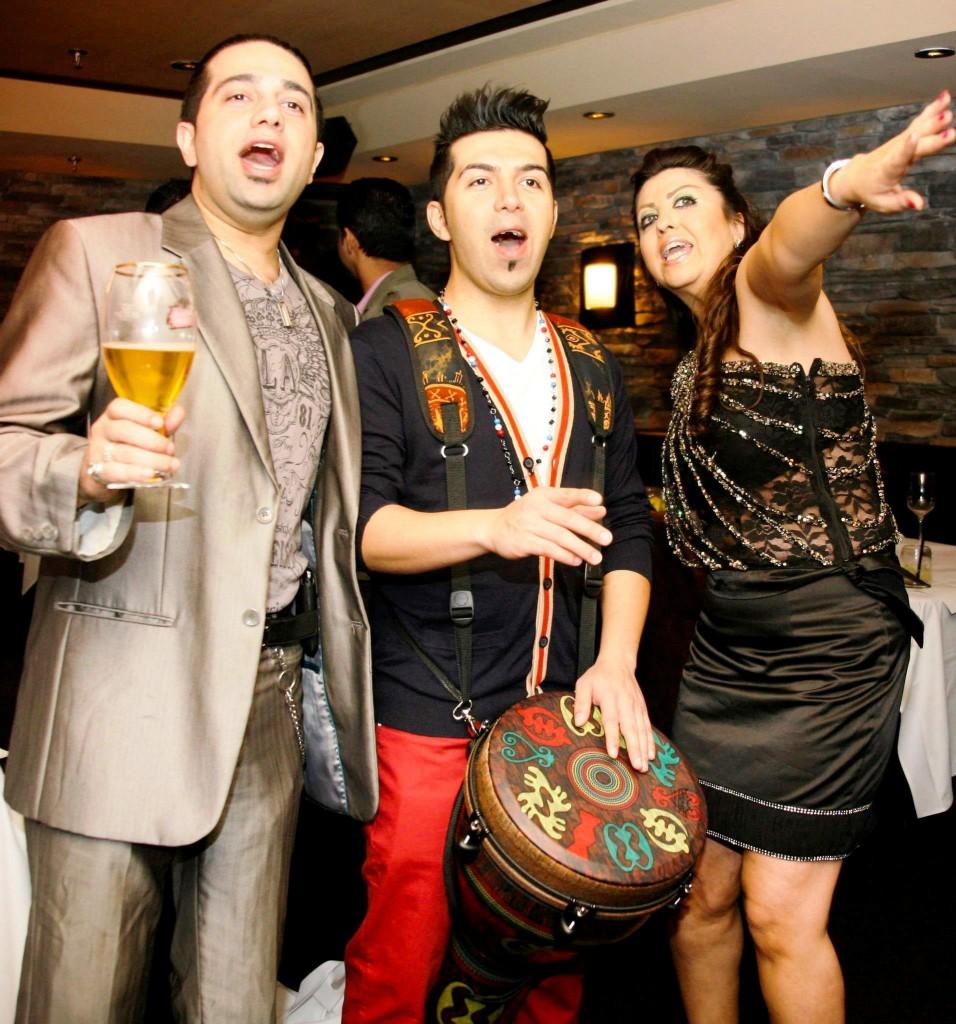 Persian party at Marlowe - Thanksgiving 2012