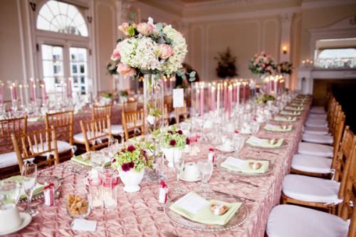 Pink Gold Wedding decor – DJ Borhan\'s Blog